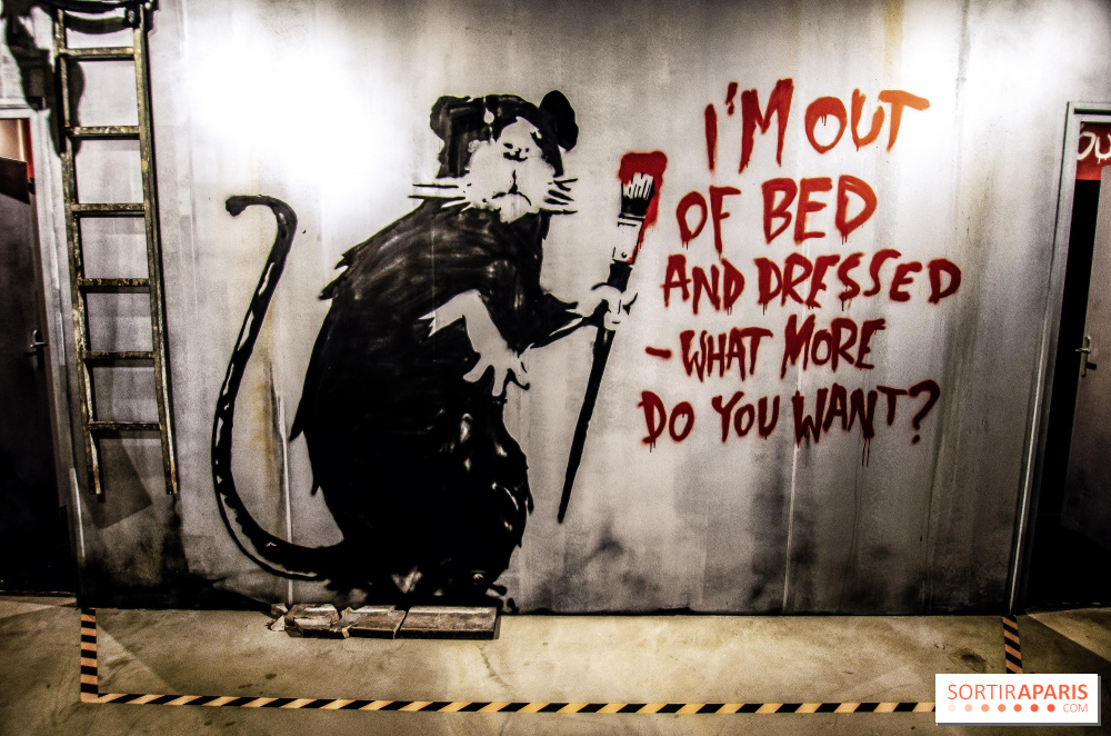 Confined, Banksy redecorates his bathroom with an exclusive work of art -  Sortiraparis.com