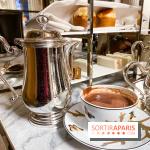 chocolat chaud Ducasse au Meurice