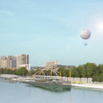 L'Arche, la piscine flottante Port de Javel, devrait ouvrir cet été 2021