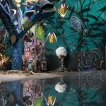 La Forêt escargot : expo de street art dans un escargot géant à Paris