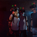 Un laser game VR à l'Aerokart d'Argenteuil