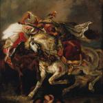 Exposition au Musée Delacroix, Un duel romantique, Le Giaour de Lord Byron par Delacroix