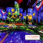 L'Atelier des Lumières avec Klimt et les artistes Viennois