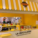 Un bar à chocolat by Pierre Marcolini au Bon Marché Rive Gauche
