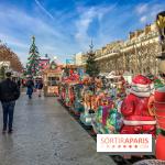 Le Marché de Noël des Tuileries à Paris, manèges
