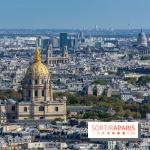 Visuel Paris hauteur, vue d'en haut