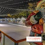 Patinoire du Marché de Noël des Tuileries 2019, les photos