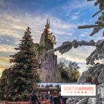 Noel au Parc Astérix 2019, sapin