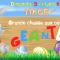 Chasse aux oeufs de Pâques au Gulli Parc