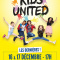 Kids United en concert à l'AccorHotels Arena à Paris en décembre 2017