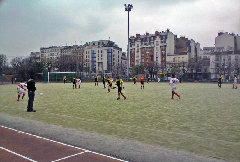 O jouer au foot paris - Stade leo lagrange porte de charenton ...