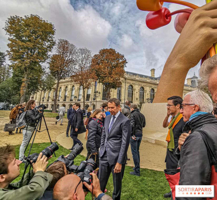 Le Bouquet de Tulipes de Jeff Koons à Paris
