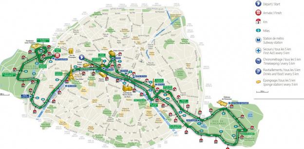 Marathon 2019 Parcours
