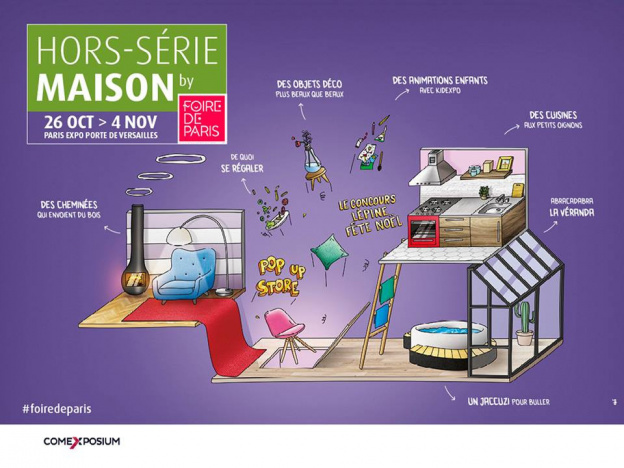 decoration noel 2018 marseille Foire de Paris special home edition, 2018   Sortiraparis.com decoration noel 2018 marseille