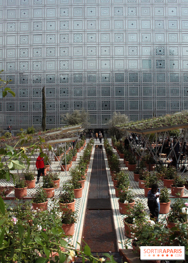 Un Jardin Dorient A Linstitut Du Monde Arabe Sortirapariscom - Jardin-arabe