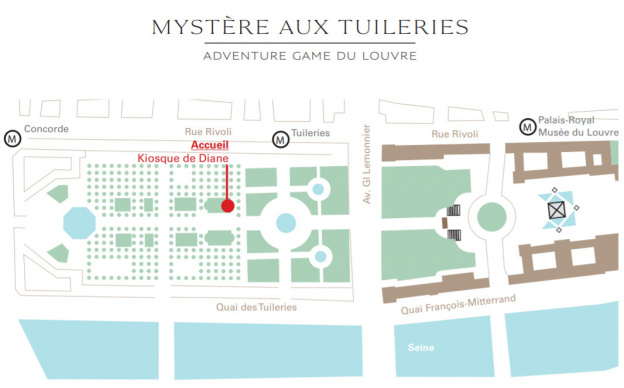 Mysteries at the Tuileries: the 100% free adventure game in the ...