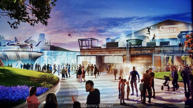 Avengers Campus, le futur land Marvel à Disneyland Paris