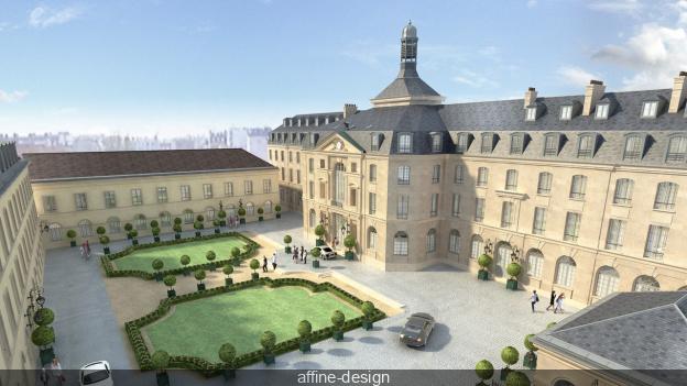 Ouverture en 2019 de l'Hôtel du Génie, dans l'abbaye de Penthemont