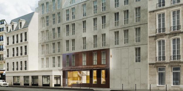 Ouverture en 2019 de l'hôtel Sinner, dans le Marais
