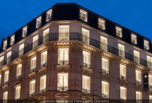 Ouverture en 2019 d'un nouvel hôtel Maison Albar à Opéra