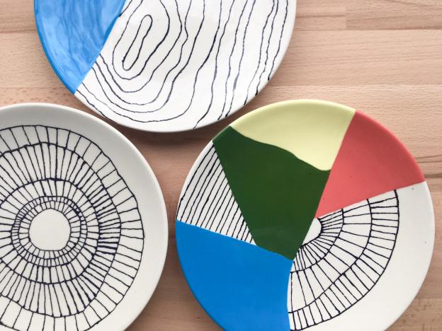 biscuit atelier de peinture sur c ramique paris. Black Bedroom Furniture Sets. Home Design Ideas