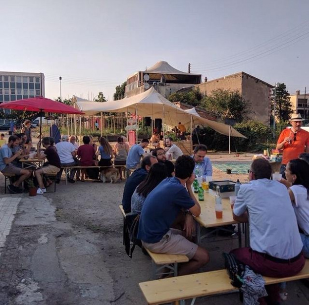 Samba, le bar éphémère de Vive les Groues