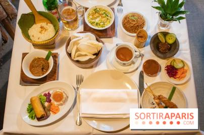Djakarta-Bali : menu dégustation