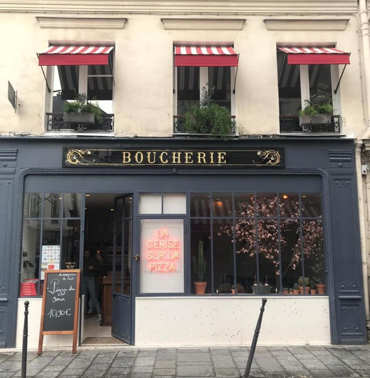 La Cerise Sur La Pizza New Pizzeria In Paris Sortiraparis Com