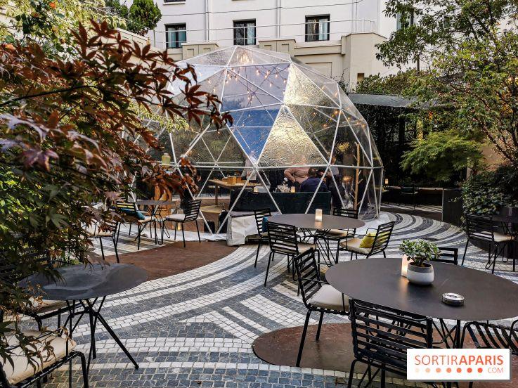 Jardin Prive Bulle D Hiver Novotel Paris Les Halles