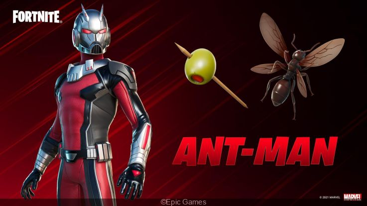 Fortnite: Ant-Man skin is now available in-game