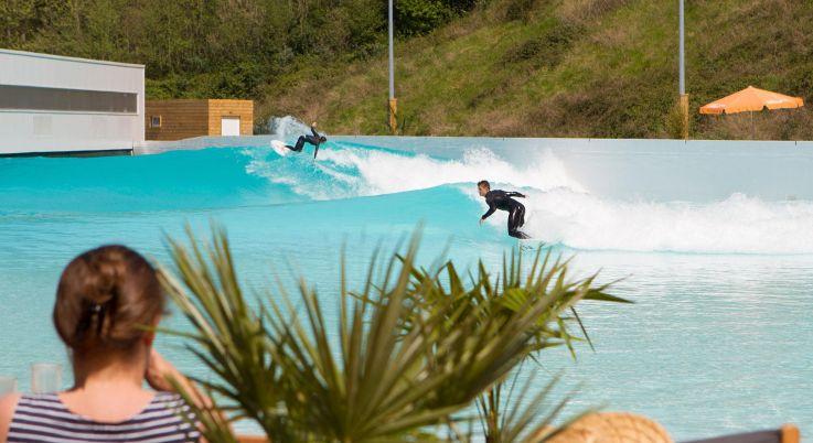 Surf La Future Piscine A Vagues De Sevran En Seine Saint Denis
