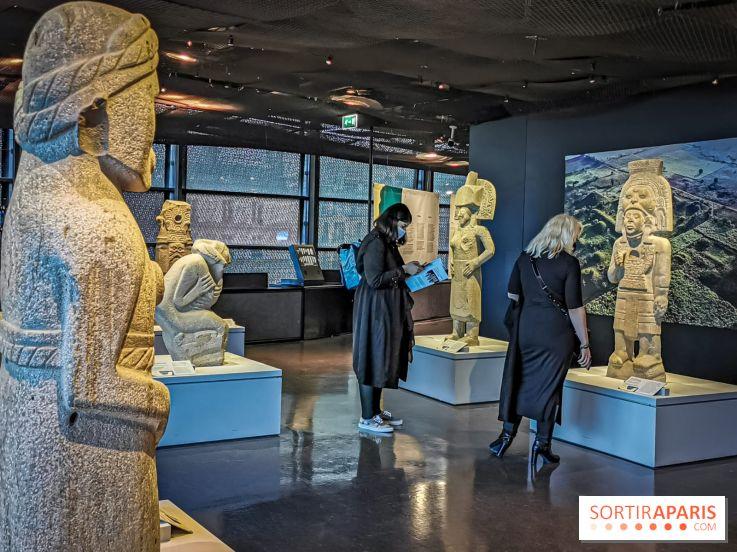 Los olmecas y las culturas del Golfo de México, la exposición en el Museo Quai Branly, nuestras fotos