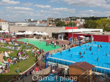 Les piscines d couvertes paris pendant l 39 t for Clamart piscine