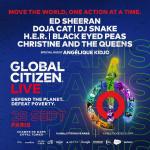 Global Citizen Live : Ed Sheeran, DJ Snake, Christine and the Queens... en concert à Paris
