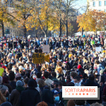 Manifestation pour les libertés place du Palais-Royal à Paris ce samedi 23 janvier 2021