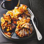 548266 la recette des aumonieres de crepes d eric frechon chef du lazare - Candlemas 2021: the best pancake recipes - Sortiraparis.com - sortaparis