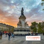 Visuel Paris, Place de la République
