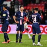 PSG Montpellier au Parc des Princes en Ligue 1