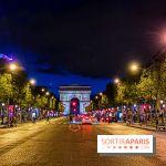Visuel Paris Arc de Triomphe Champs Elysées nuit
