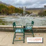 Visuel Paris vide confinement Palais Royal