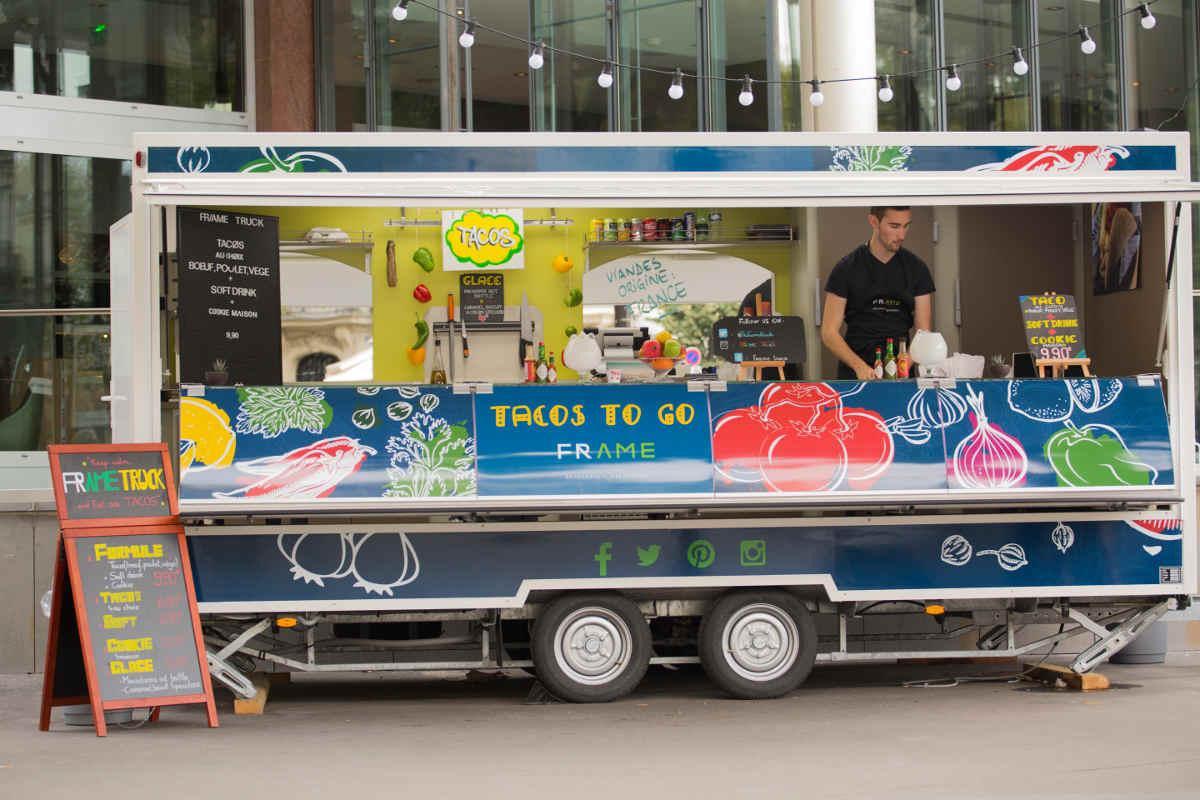 La brasserie Frame ouvre son food truck mexicain - Sortiraparis.com