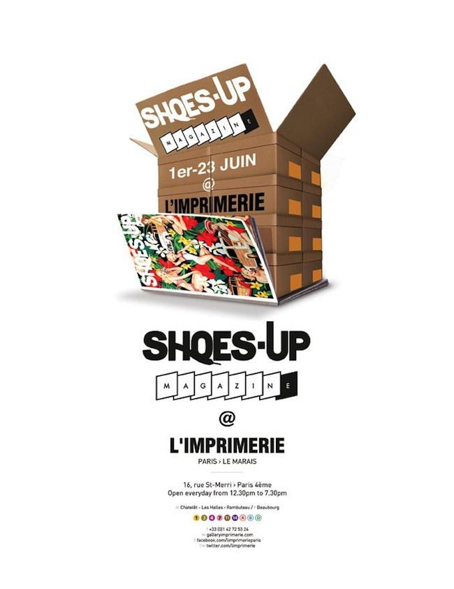 Imprimerie De L Ouest Parisien shoes-up à l'imprimerie - sortiraparis