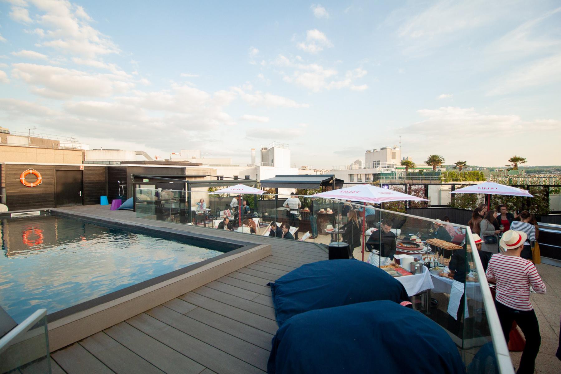 Seven Up, Mercure Paris Boulogne incredible rooftop ...