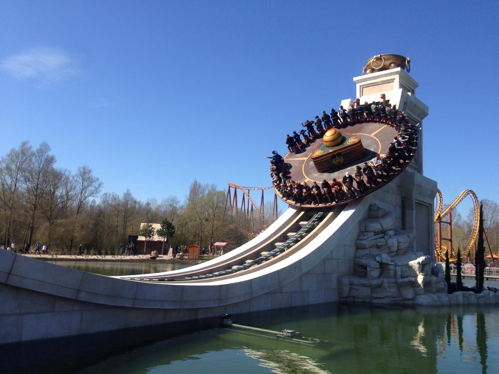 parcs d'attractions en france parc astérix discobelix