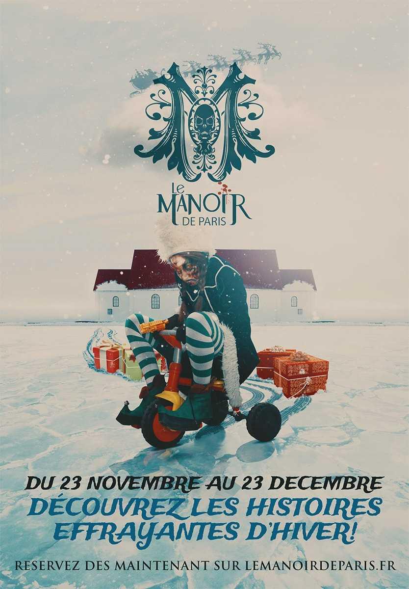 Christmas Zombie Santa.Christmas 2018 At Le Manoir De Paris Santa Claus Is A