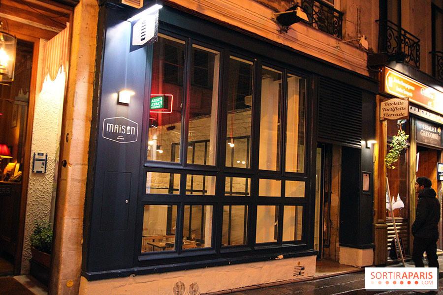 Maison Le Restaurant A Burgers A Odeon Sortiraparis Com