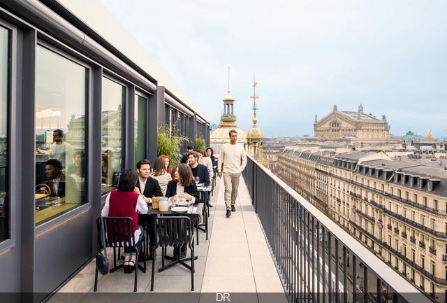 Printemps Du Goût Reveals Its Perched Terrace Sortiraparis Com