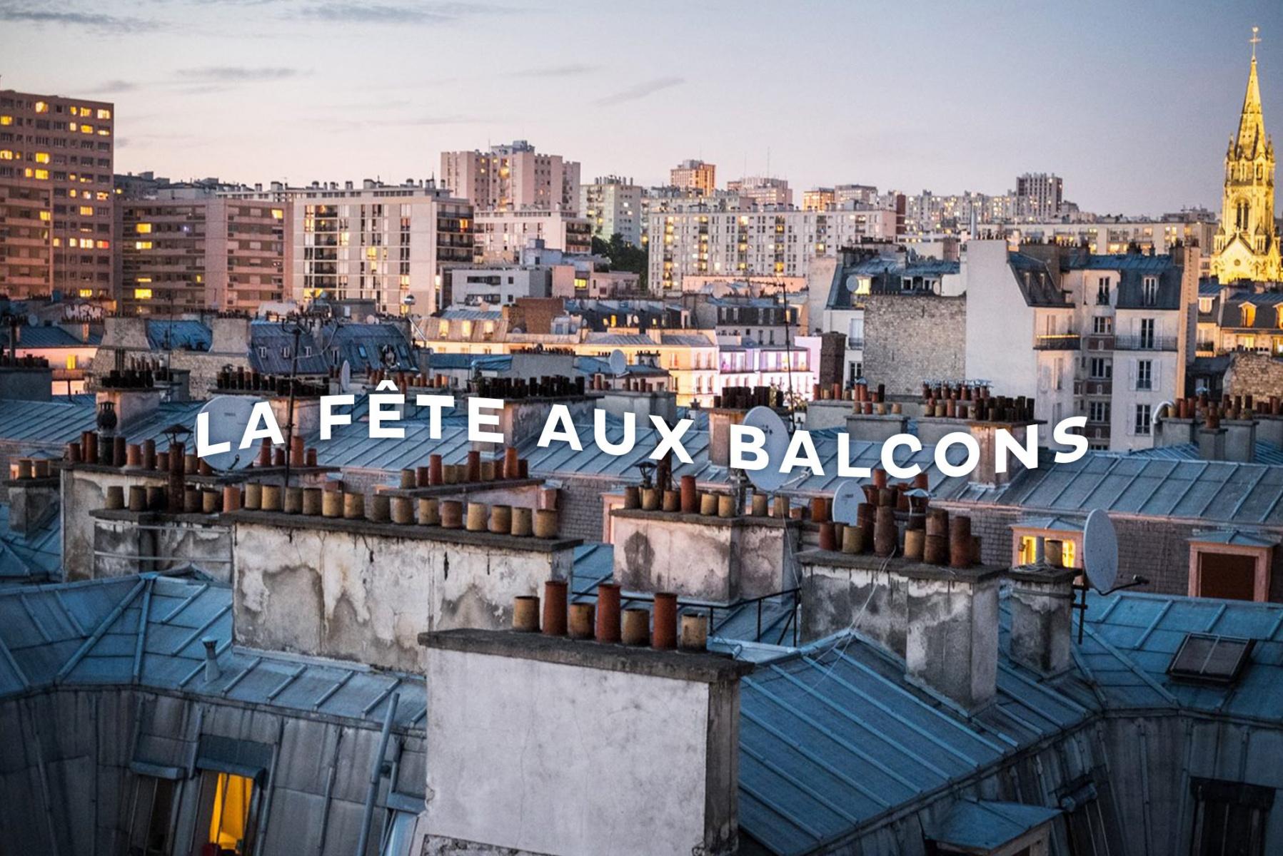 Vendredi, 20h : de la musique à tous les balcons de France !