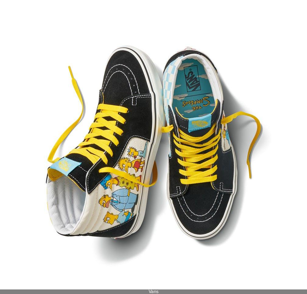 The Simpsons x Vans : nouvelle collection exclusive de chaussures ...
