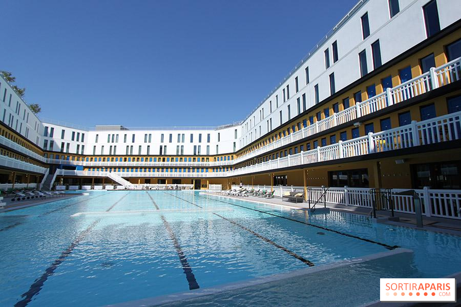 Piscines Es & Spas molitor: pool, hotel, restaurant, rooftop and spa
